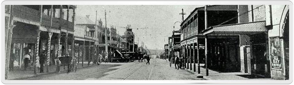 Photo of Marrickville Road and nearby Illawarra Road, Marrickville