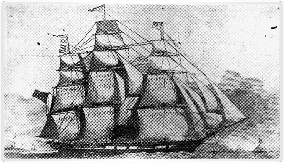 Robert Waugh Irving and his family arrived in Queensland aboard the ship Montmorency in 1865