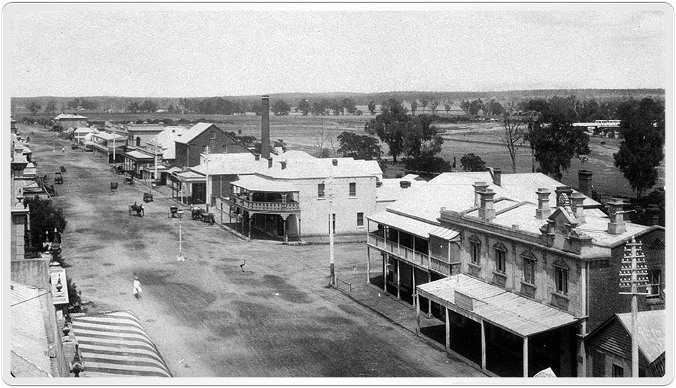 Kate Fulbrook married Henry Hall at Dubbo in 1899