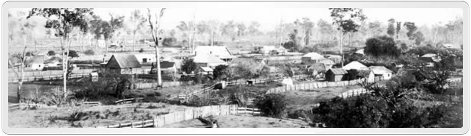Jaames Cowan lived most of his life in South Grafton, this is an early photo of the area.