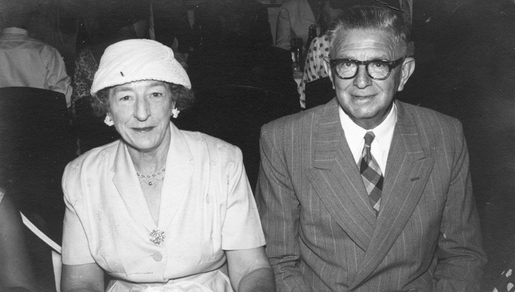 Photo of Ruby Norma Randall and her husband Ralph Johnston