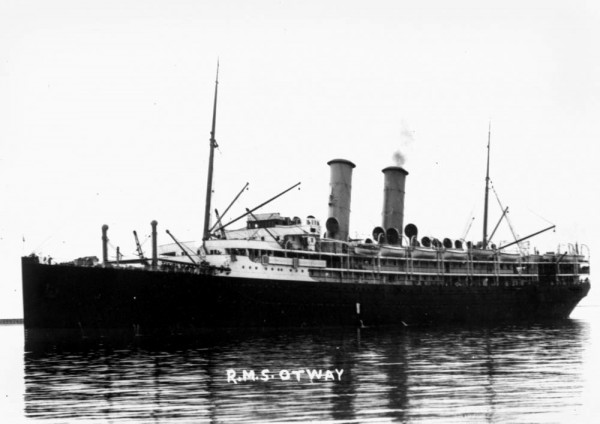 Orient line vessel RMS Otway of Glasgow