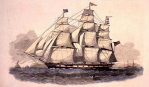 William Clingan and Elizabeth Cowden arrived in Australia in 1854 aboard the Forest Monarch