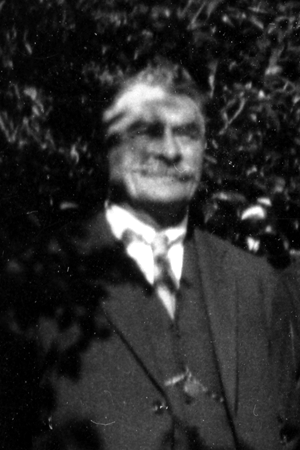 Portrait photo of Edward Emmanuel Randall c.1920's