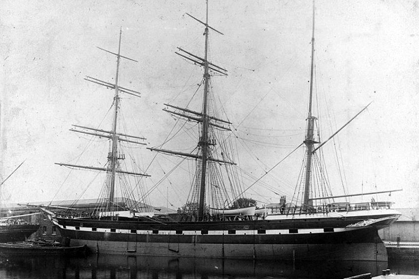Edward Emanuel Randall travelled from Plymouth, England aboard the barque Famenoth to Queensland, Australia in 1888
