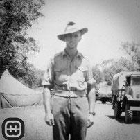 Norman Stewart Williamson in uniform