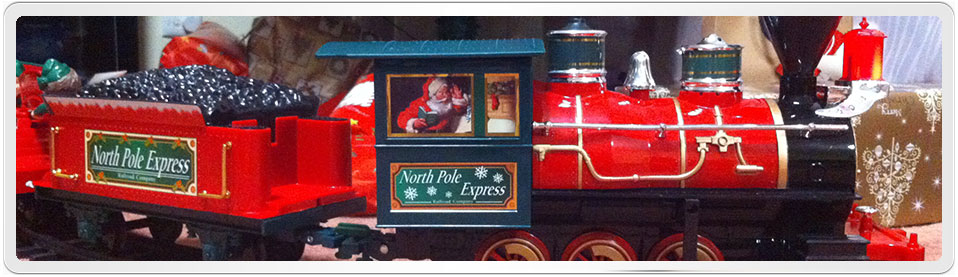 North Pole Express and Christmas Day
