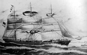 Picture of the Ship Guildford c.1816