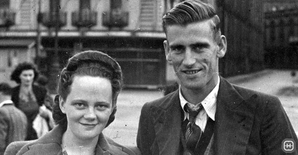 Photograph of Dorothy Amelia Morris & Ronald Grant Fitzpatrick