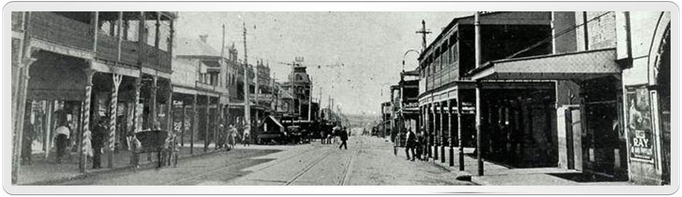 Photo of Marrickville Road and nearby Illawarra Road, Marrickville