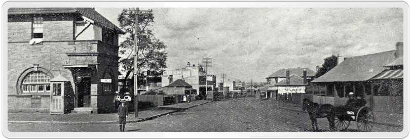 North Parramatta Post Office photographed in 1915