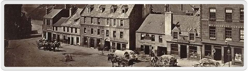 WebPage header showing the Edingburgh Grassmarket