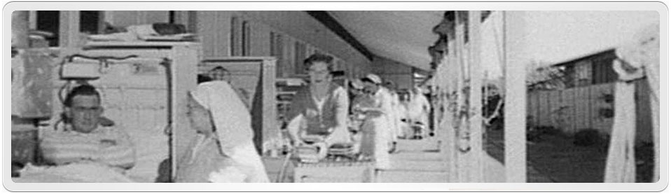 WebPage Header showing a photograph of the Tuberculosis Hospital at Randwick NSW. Lucy Jane Cleary was patient in this hospital.