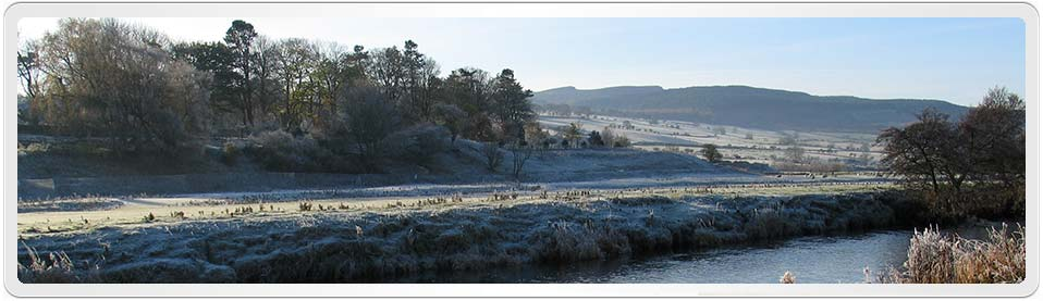 Alice Urpeth was born at Rothbury in 1767. River Coquet at Rothbury Northumberland by John-Paul Stephenson.