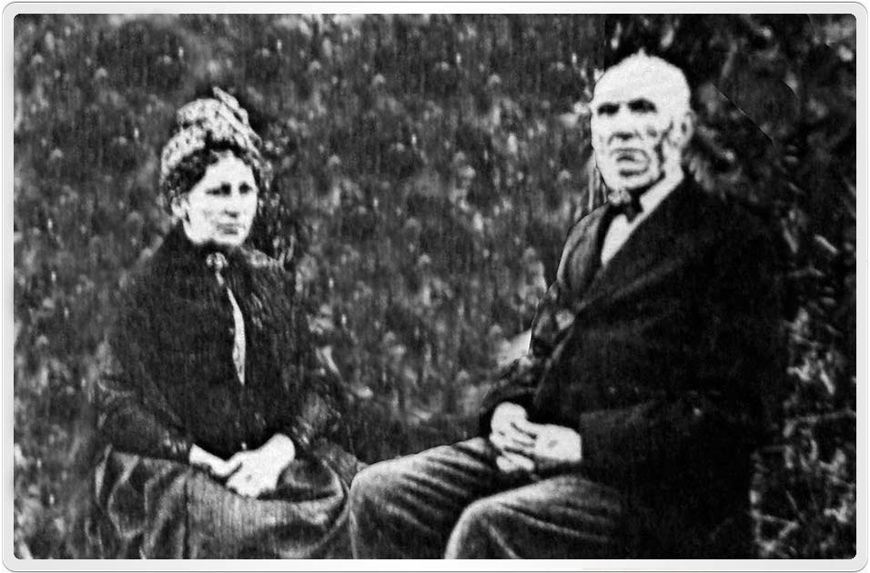 Photograph of Andrew and Ann Ritchie